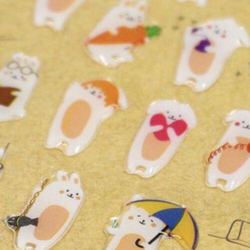 Bunny's Day Deco Sticker