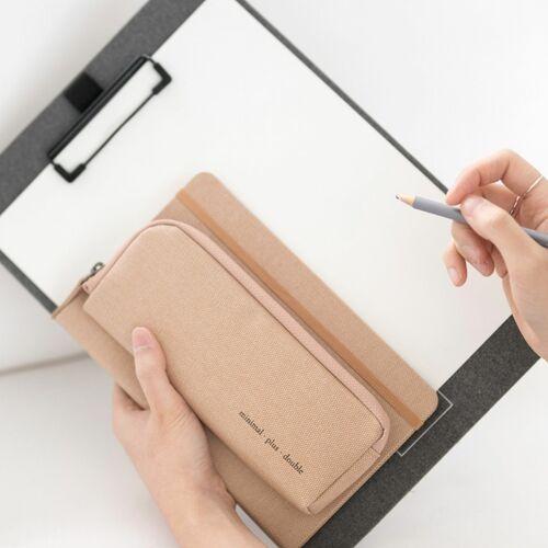 Double Zip Up Pen Pouch v5