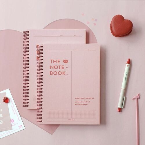Pieces of Moment A5 Hardcover Grid Notebook v2