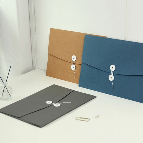 String Tie A4 Document Holder