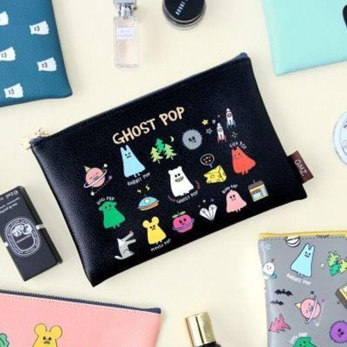 Medium Ghost Pop Pouch