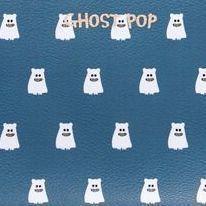 Medium Ghost Pop Pouch, Navy
