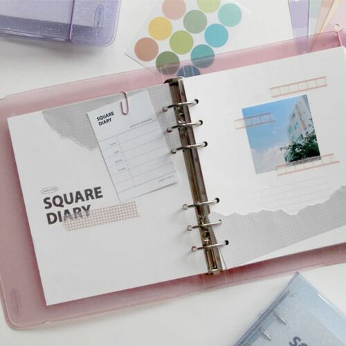 Square 6 Ring A6 Wide Planner Refill