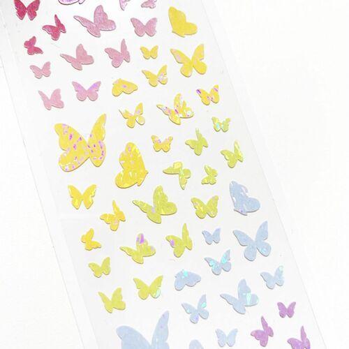 Butterfly Hologram Slim Sticker
