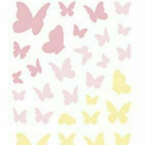 Butterfly Hologram Slim Sticker