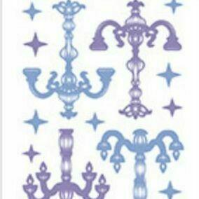Chandelier Slim Sticker