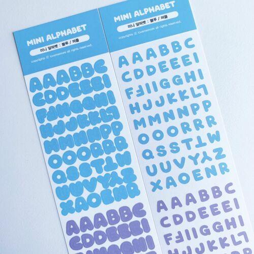 Alphabet Slim Sticker