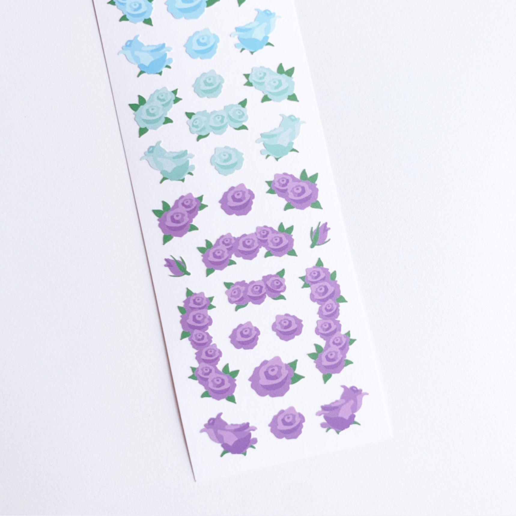 Flower Wave Slim Sticker