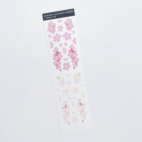 Spring Flower Slim Sticker