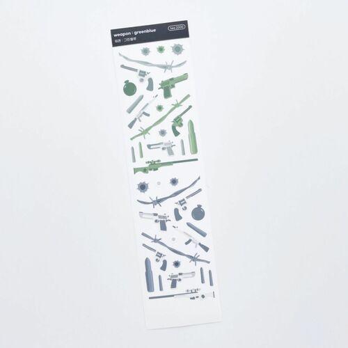Weapon Slim Sticker
