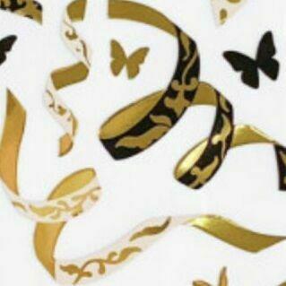 Oriental Confetti Slim Sticker