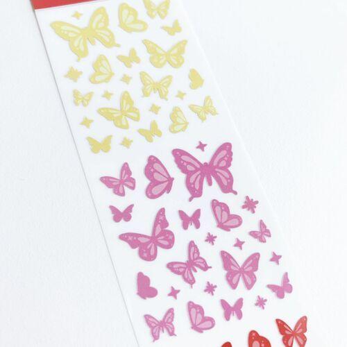 Shine Butterfly Slim Sticker