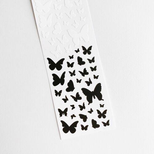 Butterfly Slim Sticker v1