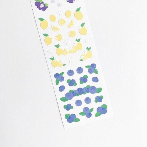 Fruit Wave Slim Sticker