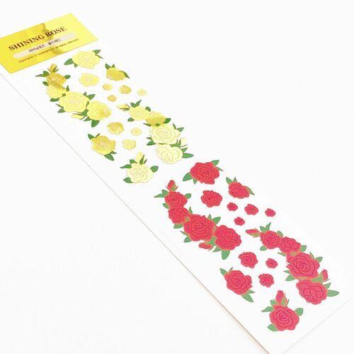 Shining Rose Slim Sticker