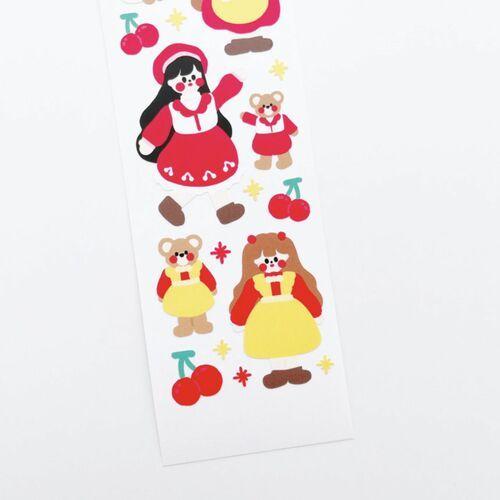 Cherry Land Slim Sticker