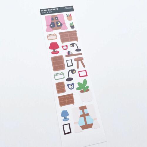 In My Room Slim Sticker
