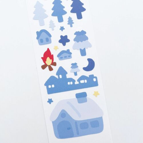 Cozy Winter Slim Sticker