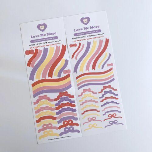Ribbon Slim Sticker v1