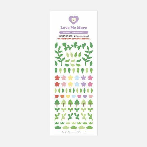 Leaf Slim Sticker v1