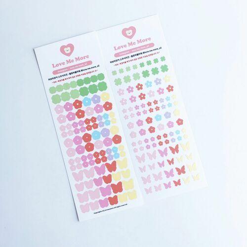 Clover Flower Slim Sticker