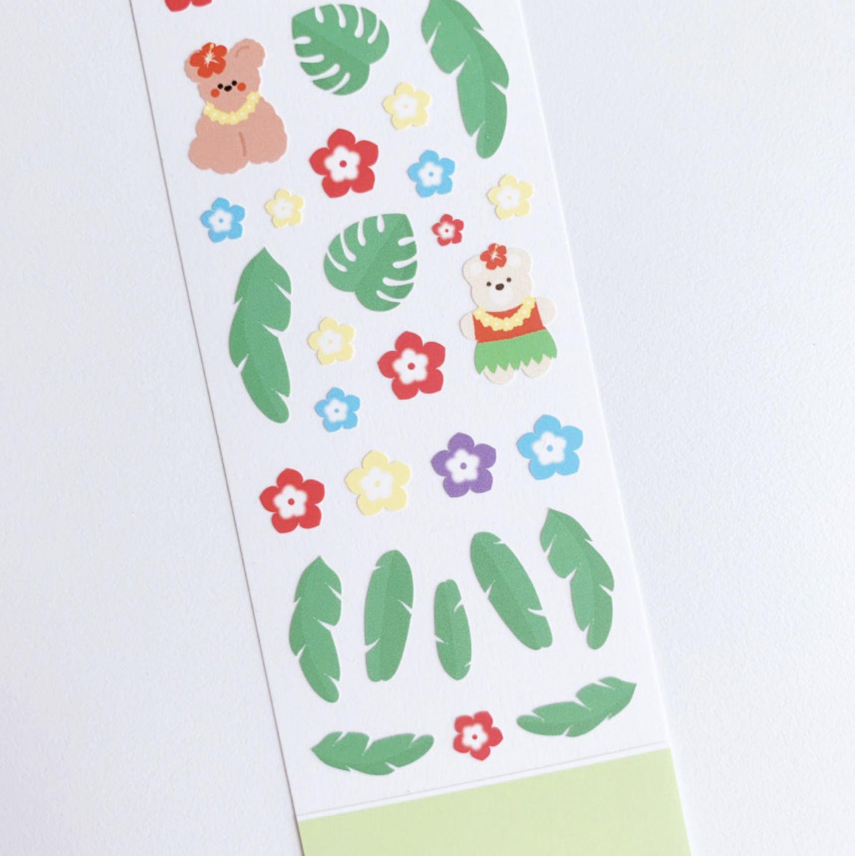 Lovely Bear Slim Sticker v2
