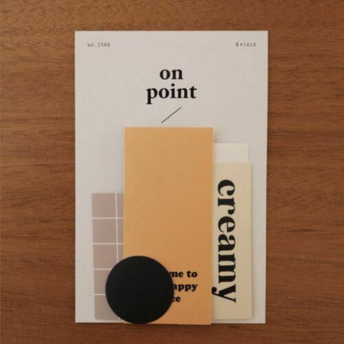 On Point Matte Deco Sticker Set v1