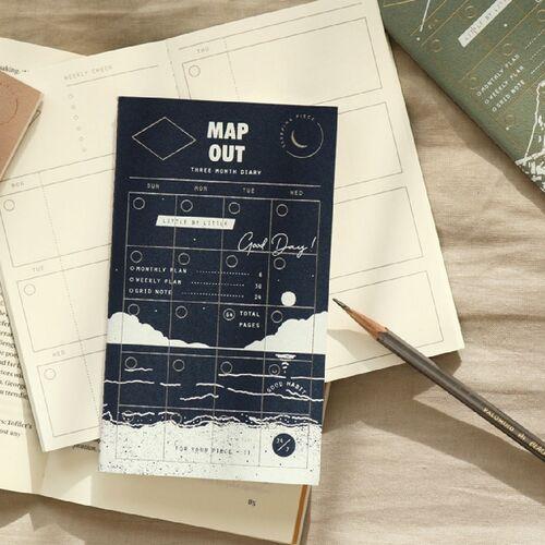 3 Months Sleeping Piece Weekly Planner