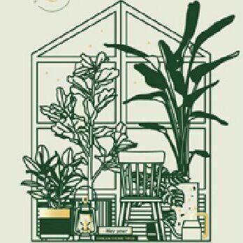 Sleeping Piece Weekly Journal, Terrarium Plant