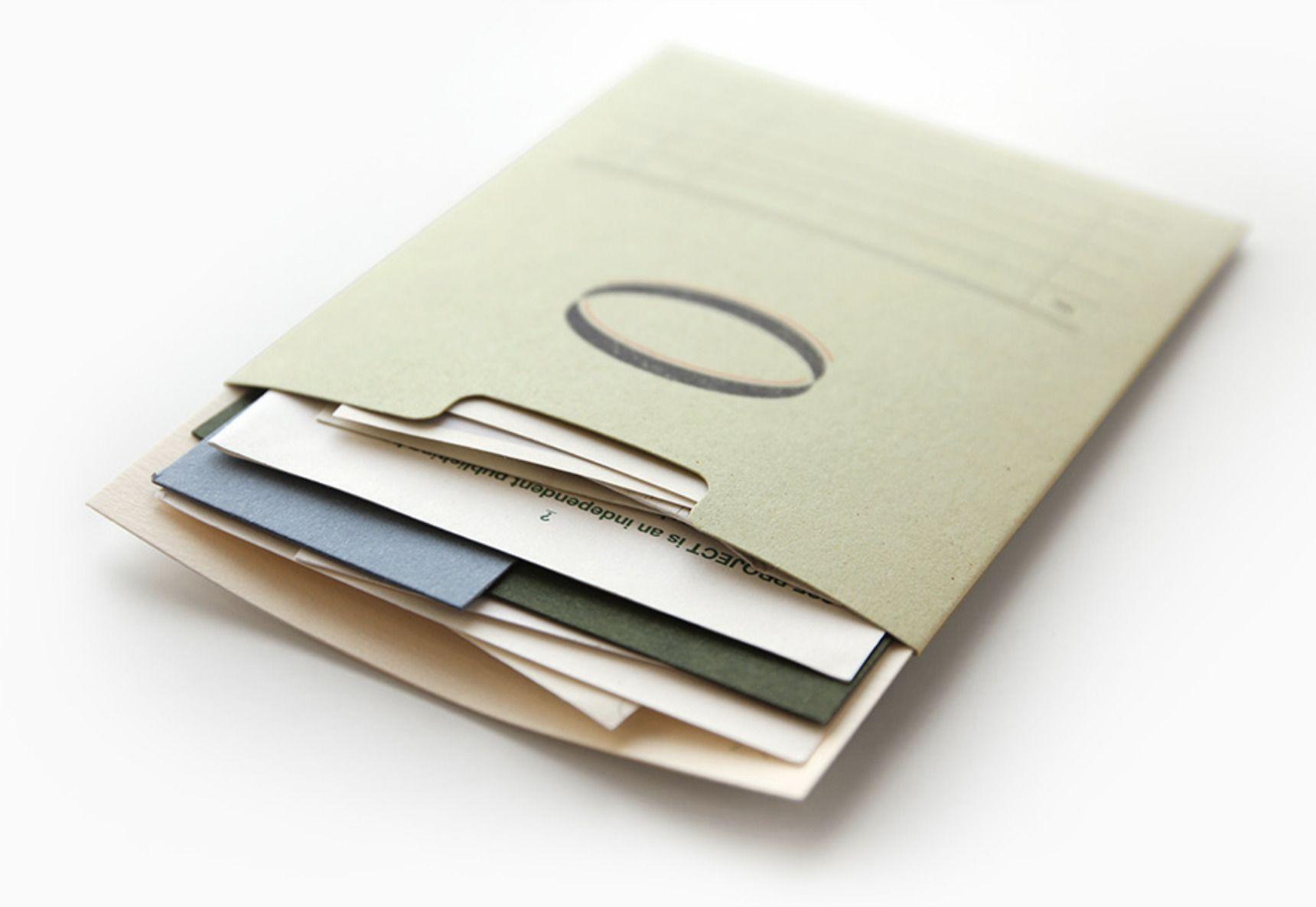 2pcs Small Index Pocket Holder