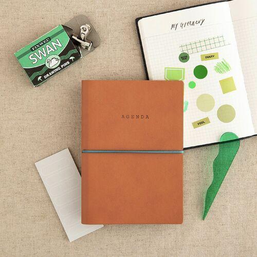 Small Agenda Grid Notebook