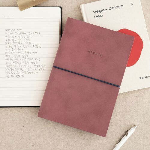 Large Agenda Lined Notebook