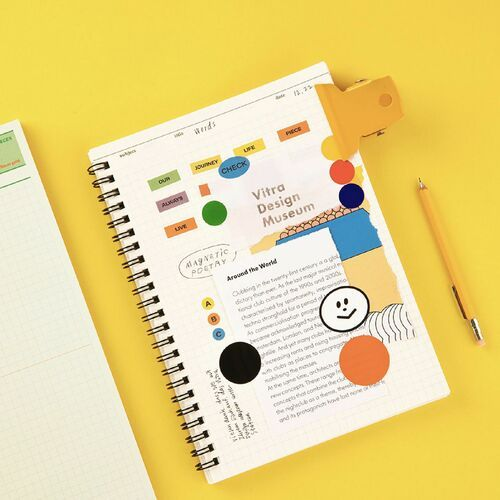 Small Life & Pieces Spiral Notebook