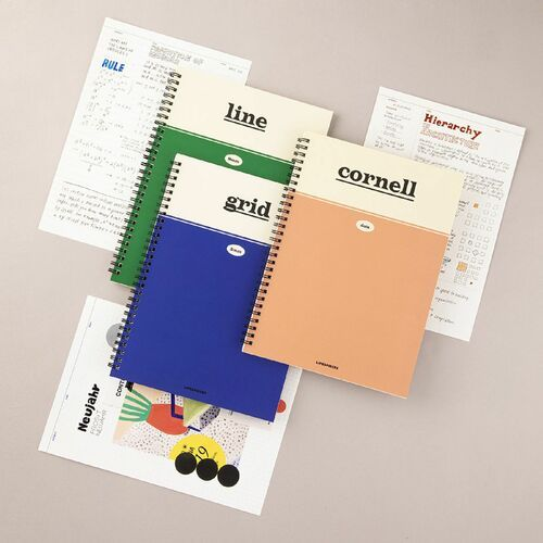 Large Life & Pieces Spiral Notebook