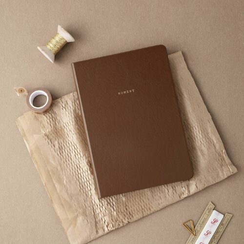 Large Moment Lined Notebook