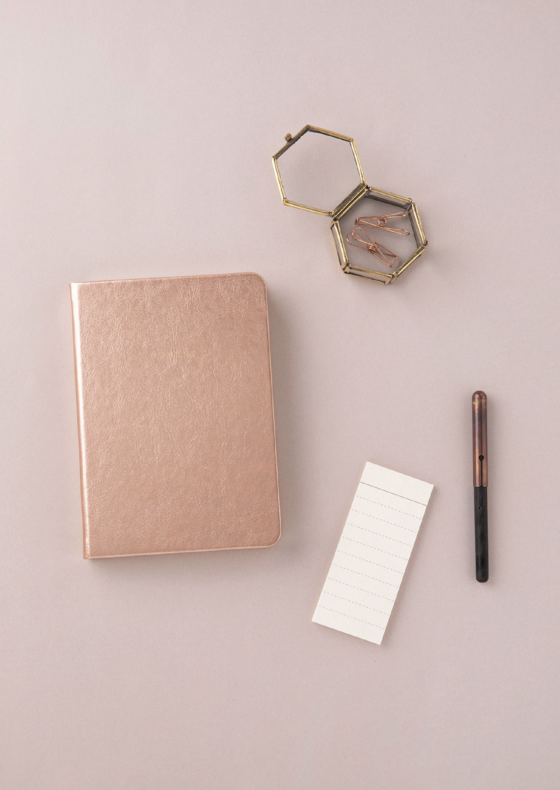 Small Moment Lined Notebook