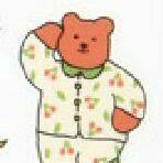 Jelly Bear Transparent Removable Sticker