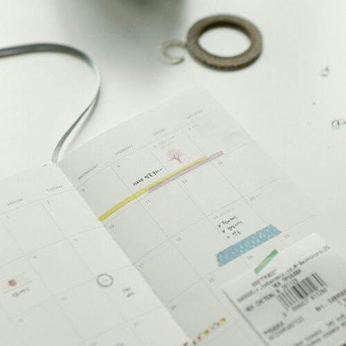3pcs Dailylike Thin Masking Tape Set