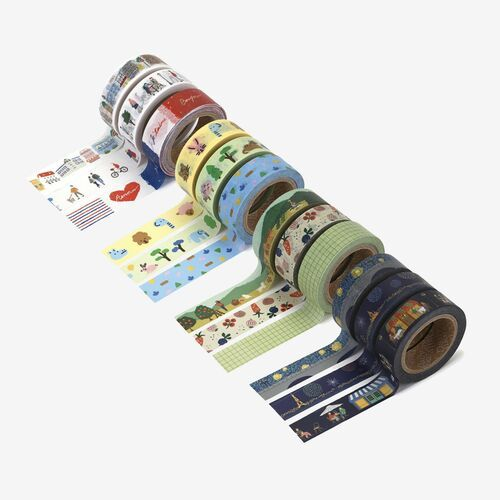 3pcs Dailylike Masking Tape Set