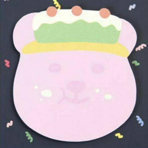 Jelly Bear Sticky Note v1