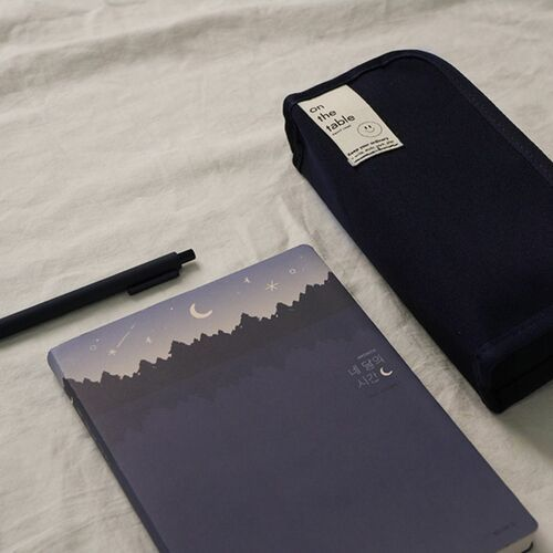 On the Table Canvas Pen Pouch v2