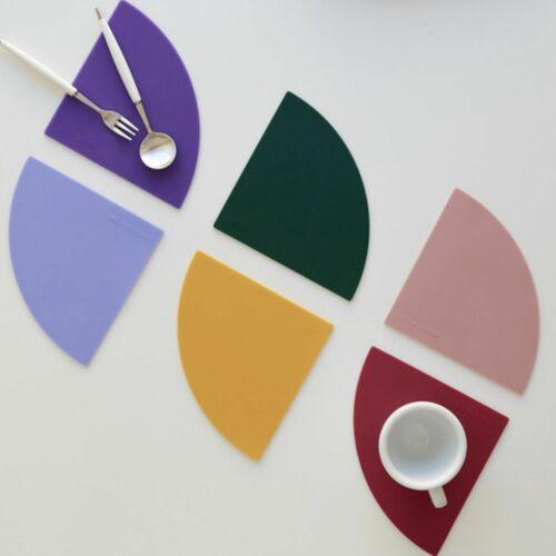 6pcs On the Table Silicone Tea Coaster Set
