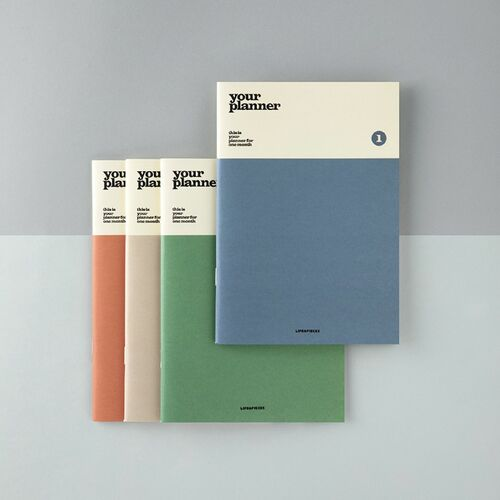 Life & Pieces Your Planner (1 Month)