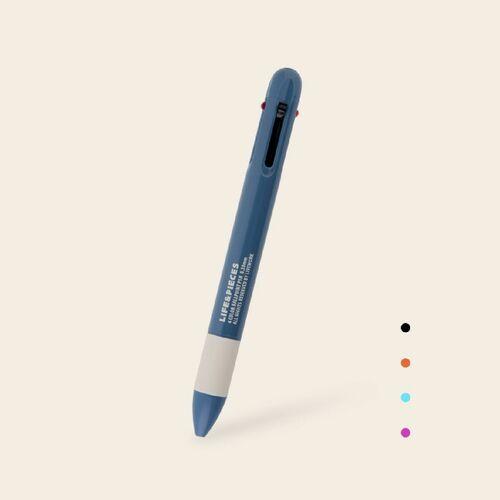 Life & Pieces 4 Color Ball Point Pen v2
