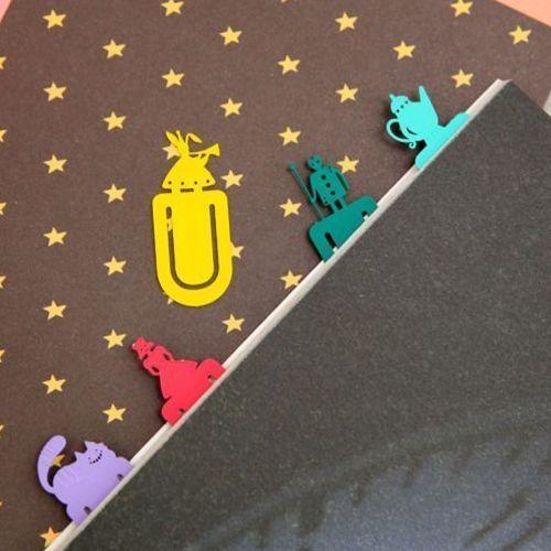 Mini Alice Bookmark Set