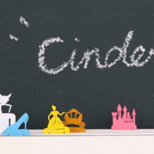 Mini Cinderella Bookmark Set