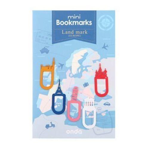 Mini Landmark Bookmark Set