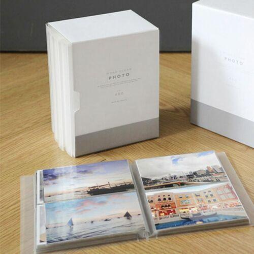 3x5 Mono Clear Photo Album Set