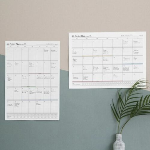 My Perfect A3 Monthly Planner Sheets