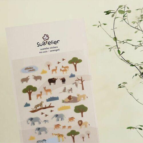 Serengeti Deco Sticker